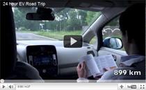 Video: 1.254 Kilometer mit dem Nissan LEAF in 24 Stunden