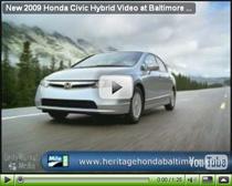 Vorstellung des 2009 Honda Civic Hybrid