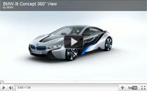 Video: 360° Ansicht des BMW i8 Concept