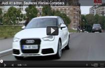 Video: Vorstellung des Elektroautos Audi A1 e-tron