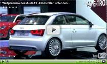 Premium bei den Kleinwagen: Weltpremiere des Audi A1 in Genf