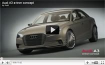 Video: Audi A3 e-tron concept