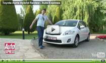 Auto Express testet den Toyota Auris Hybrid