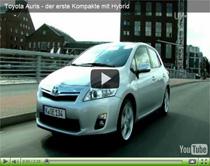 Toyota Auris: Erster Kompakter mit Hybridantrieb