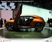 Renault Captur auf dem Genfer Autosalon 2011