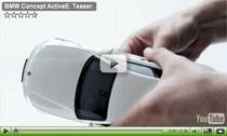 Teaser für die Elektroauto-Studie BMW Concept ActiveE