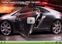 Elektroauto Studie Cadillac Converj auf der Chicago Auto Show 2009