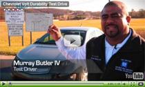 Elektroauto Chevrolet Volt im Kurven-Test