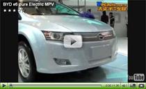 Chinesisches Elektroauto BYD e6