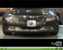 Elektroauto Chrysler 200C Concept auf der Detroit Auto Show