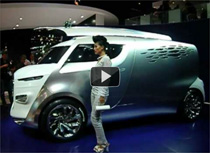 Video: Hybrid-Van Citroën Tubik auf der IAA 2011