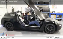 Delta E-4 Coupe: E-Auto mit möglichst geringem Energieverbrauch