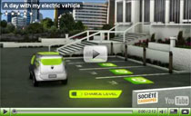 Animations-Film: Ein Tag mit dem Renault Elektroauto