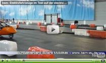 "Elektrofahrzeuge im Test auf der Expo ""the electric avenue"""