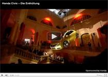 Neuer Honda Civic: Spektakuläre Enthüllung auf der IAA 2011 (Anzeige)