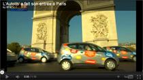 Video: Carsharer Autolib lässt erste Bollore Bluecar Elektroautos durch Paris rollen