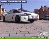 Erste Testfahrt mit dem Elektroauto Loremo EV