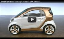 Video: Vorstellung des smart forvision von Daimler und BASF