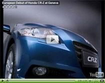 Die europäische Version des Honda CR-Z Hybrid