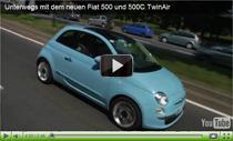 Unterwegs mit dem Fiat 500 TwinAir und 500C TwinAir