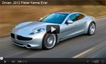 Testfahrten mit dem 2012er Fisker Karma EVer