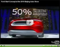 Stylischer Kleinstwagen Ford Start Concept auf der China Auto Show