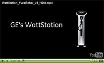 Yves Behar stellt die WattStation Ladestation von GE vor