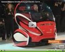 General Motors präsentiert in Shanghai futuristische Elektrofahrzeuge