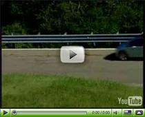 Der Chevrolet Volt auf der Strasse