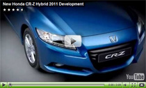 Video zur Entwicklung des neuen Honda CR-Z Hybrid