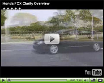 Honda FCX Clarity Video