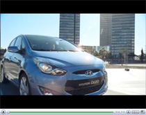 Kompakt und doch mit viel Platz: Der neue Hyundai ix20 (Anzeige)