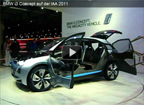Video: BMW i3 Concept auf der IAA 2011