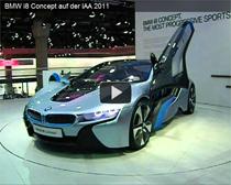 Video: BMW i8 Concept auf der IAA 2011