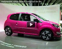 Video: Weltpremiere des neuen Renault Twingo auf der IAA 2011