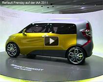 Video: Elektroauto Renault Frendzy auf der IAA 2011