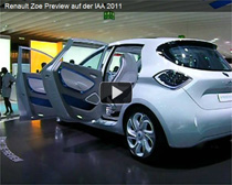 Video: Elektroauto Renault Zoe Preview auf der IAA 2011