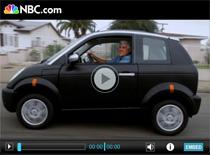 Jay Leno testet das Elektroauto Think City