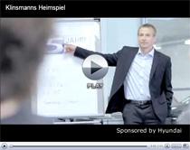 Jürgen Klinsmann ist Marken-Botschafter von Hyundai (Anzeige)
