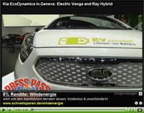 Elektrisierte Koreaner: Kia Venga EV und Kia Ray Hybrid