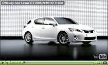 Offizieller Trailer zum neuen Lexus CT 200h Hybrid