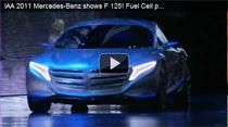 Video: Premiere des Mercedes F 125! mit F-Cell Plug-in Hybridantrieb