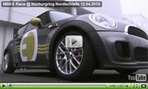 Der Mini E auf dem Nürburgring: Mit Grünem Auto durch die Grüne Hölle