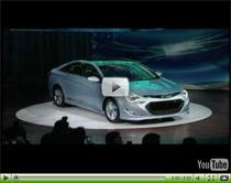 Hyundai Sonata Hybrid wird auf der New York Auto Show enthüllt