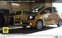 ÖAMTC startet Alltagstest mit dem Elektroauto Mitsubishi iMiEV