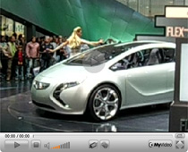 Vorstellung des Opel Flextreme auf der IAA 2007