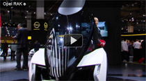 Video: Das Elektrofahrzeug Opel RAK e auf der IAA 2011