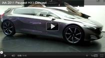 Peugeot HX1: Video vom Konzeptfahrzeug auf der IAA 2011