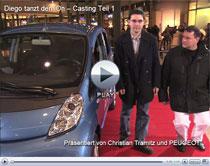 Casting für den Werbespot zum neuen Peugeot iOn (Anzeige)