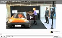 Erste Bilder und Videoaufnahmen vom Elektro-Cabrio QBEAK